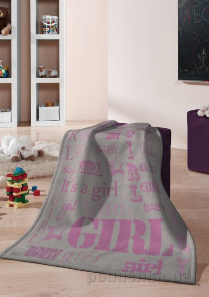 Плед детский Billerbeck Kids Cotton Girl 676498 75х100 см  Biederlack Borbo-Bocasa