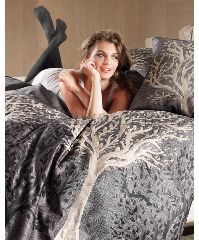 Набор постельное бельё с одеялом Karaca Lal бежевый