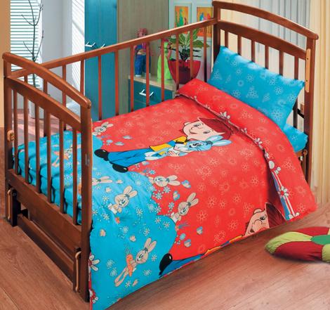 Постельное белье в кроватку Дядя Федор