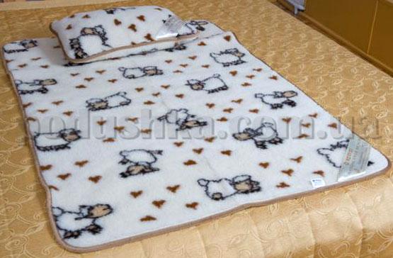 Детский набор Адель (одеяло + подушка), Merkys