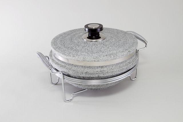 Круглый мармит ( нерж. сталь) 5768-S