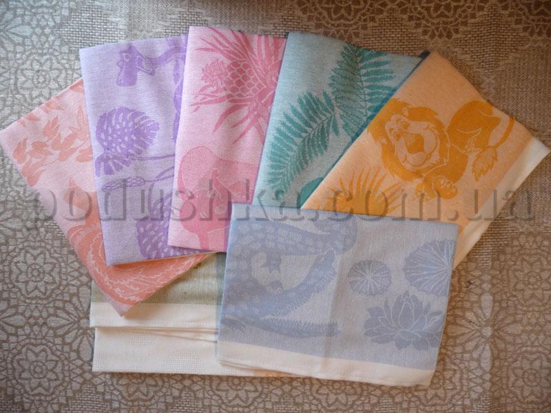Набор полотенец 7с153-ШР Африка