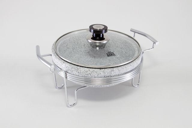 Круглый мармит ( нерж.сталь) 5772-S