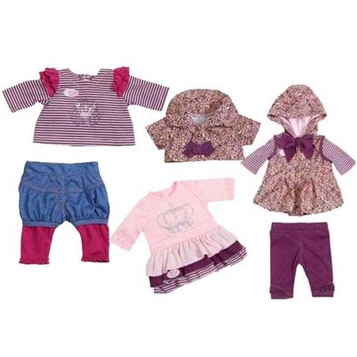 Набор одежды для куклы Baby Born - Звездная коллекция (3 вида в ассорт)