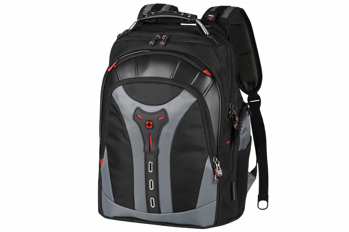 Рюкзак для ноутбука Wenger Pegasus 17 чёрно-серый 600639