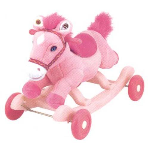 Чудокачалка - Поющий Пони (розовый)