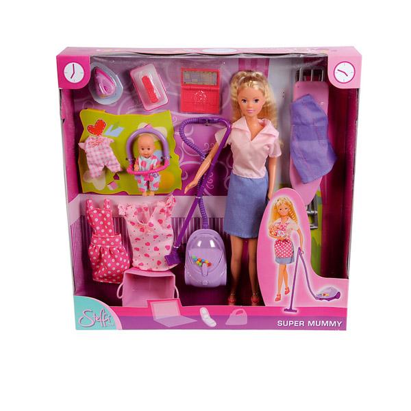 Кукольный набор Штеффи Супер мама