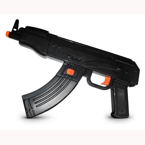 Водный автомат - АК-47 - STR 80 (моторизованный, черный)