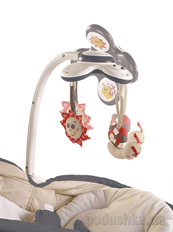 Кресло-кроватка-качалка 3 в 1 Мамина любовь с капюшоном Tiny Love   Tiny Love