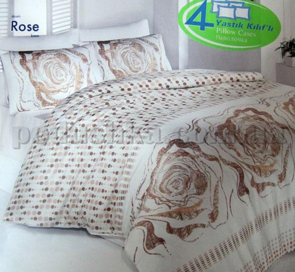 Постельное белье Altinbasak Rose Cream