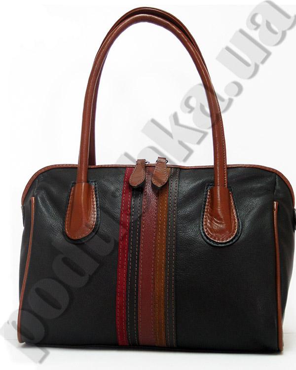 Сумка из натуральной кожи Artis Bags 654 черная