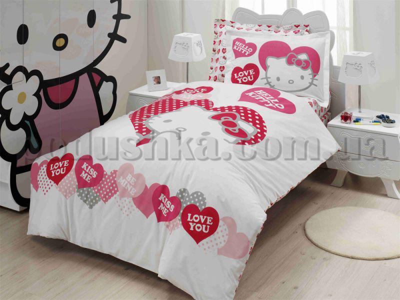 Постельное белье Altinbasak Hello Kitty Valentino