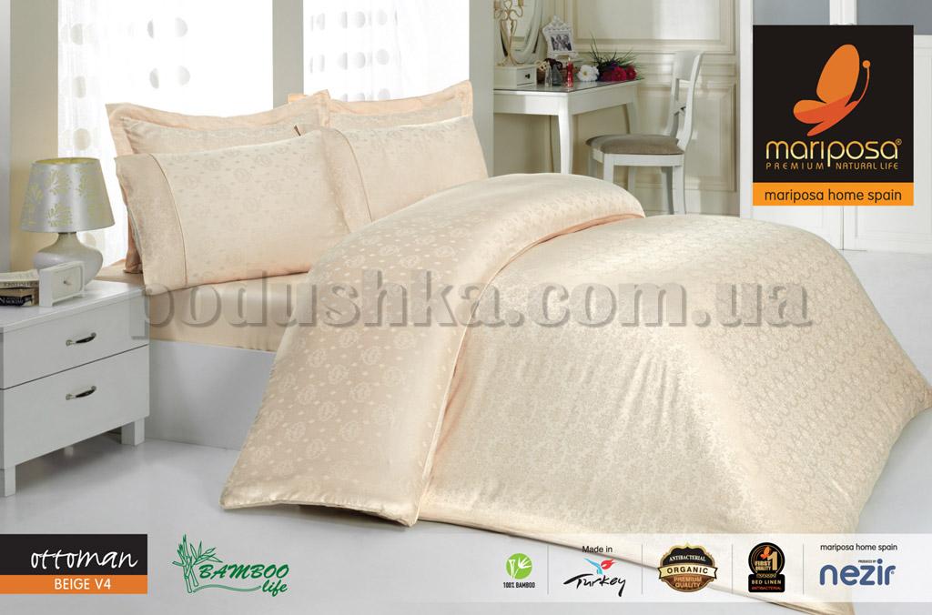 Постельное белье Mariposa Ottoman Beige V4