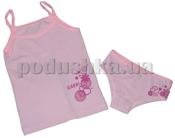 Нательный комплект для девочек Габби 3516 кулир
