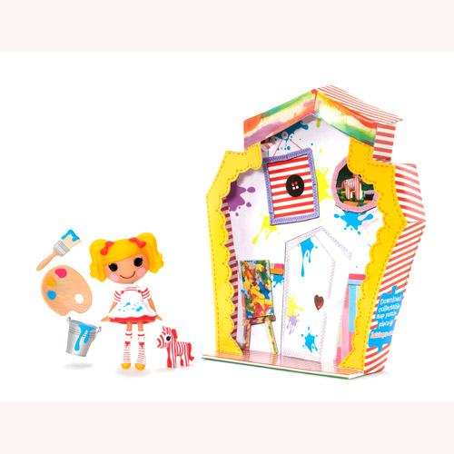 Кукла Minilalaloopsy с аксессуарами - Художница