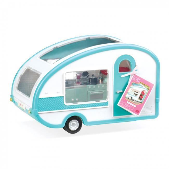 Транспорт для кукол Lori Кемпер на колесах LO37001