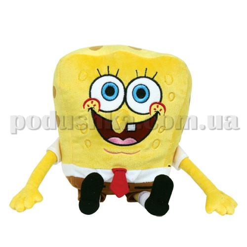 Мягкая игрушка-подвеска - Губка Боб Viacom, 9 см