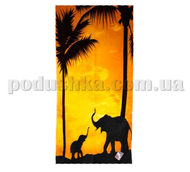 Полотенце пляжное Home line Пара слонов