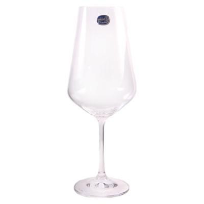 Бокалы Sandra 450 мл для вина 6 шт Bohemia