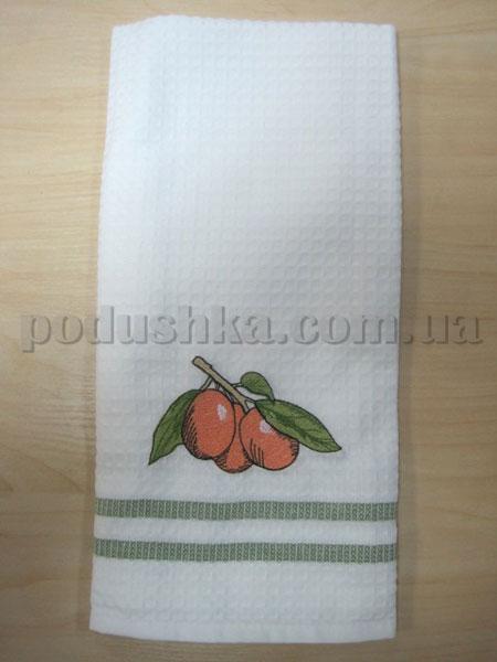 Полотенце кухонное вафельное Remzi Абрикос