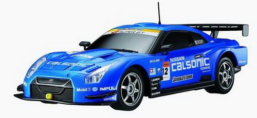 Автомобиль радиоуправляемый - 2008 NISSAN GT-R SUPER GT (синий, 1:16)