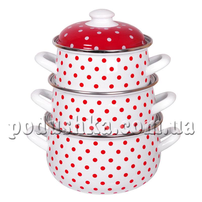 Набор посуды 3 предмета Горох