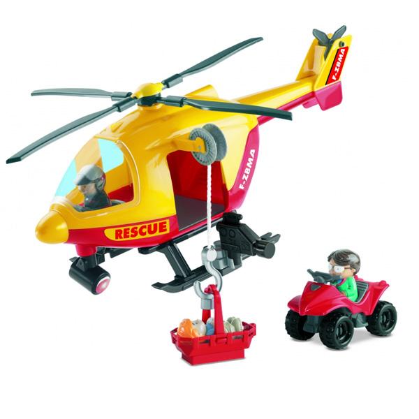 Конструктор Спасательный вертолет с командой