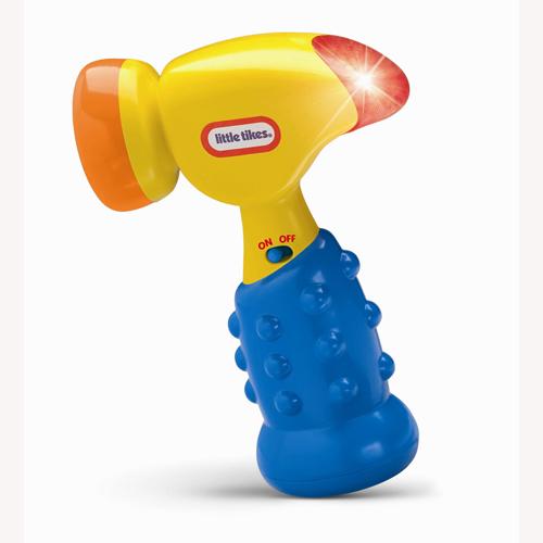 Развивающая игрушка - Молоток (свет, звук)