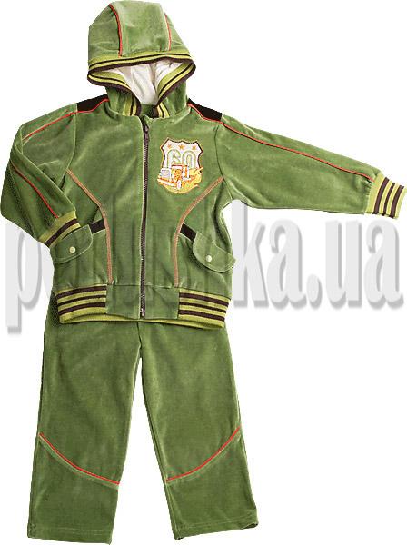 Спортивный костюм для мальчиков Ляля 2ТК101В велюр