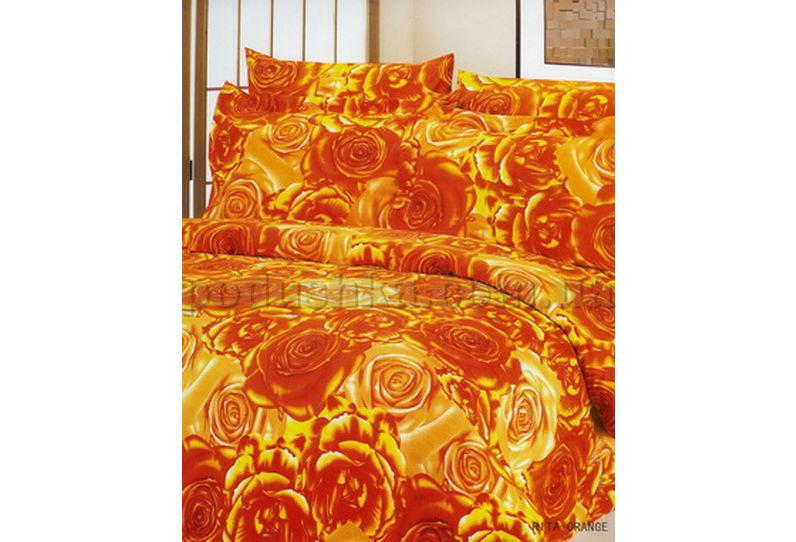 Постельное белье Dophia Rita orange