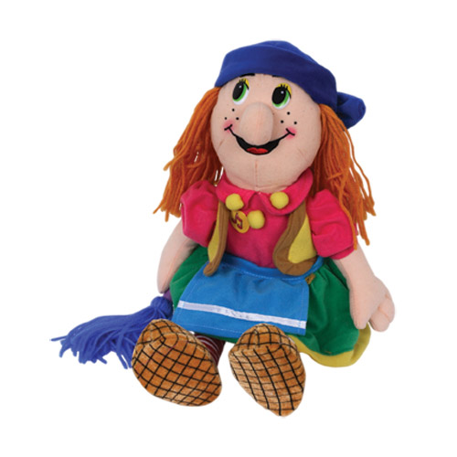 Мягкая игрушка Бабка-Ежка с озвучкой