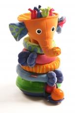 Пирамидка Музыкальный слоник