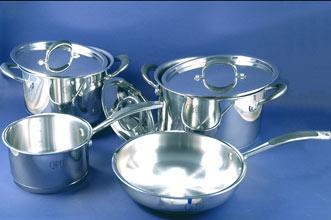 Набор посуды 7 предметов Expert метал/крышка , Gipfel