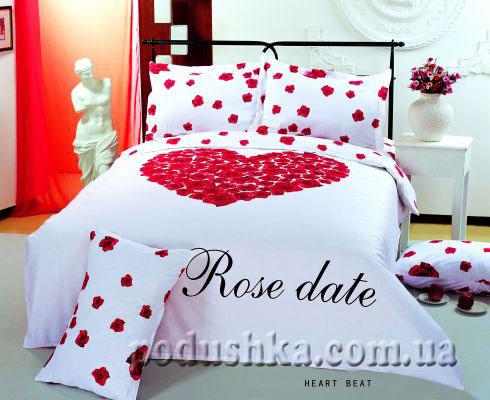 Комплект постели Heart Beat white, Le Vele