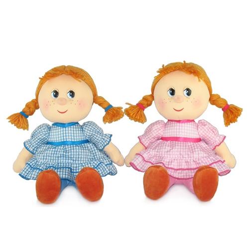 Мягкая игрушка Кукла маруся в праздничном платье