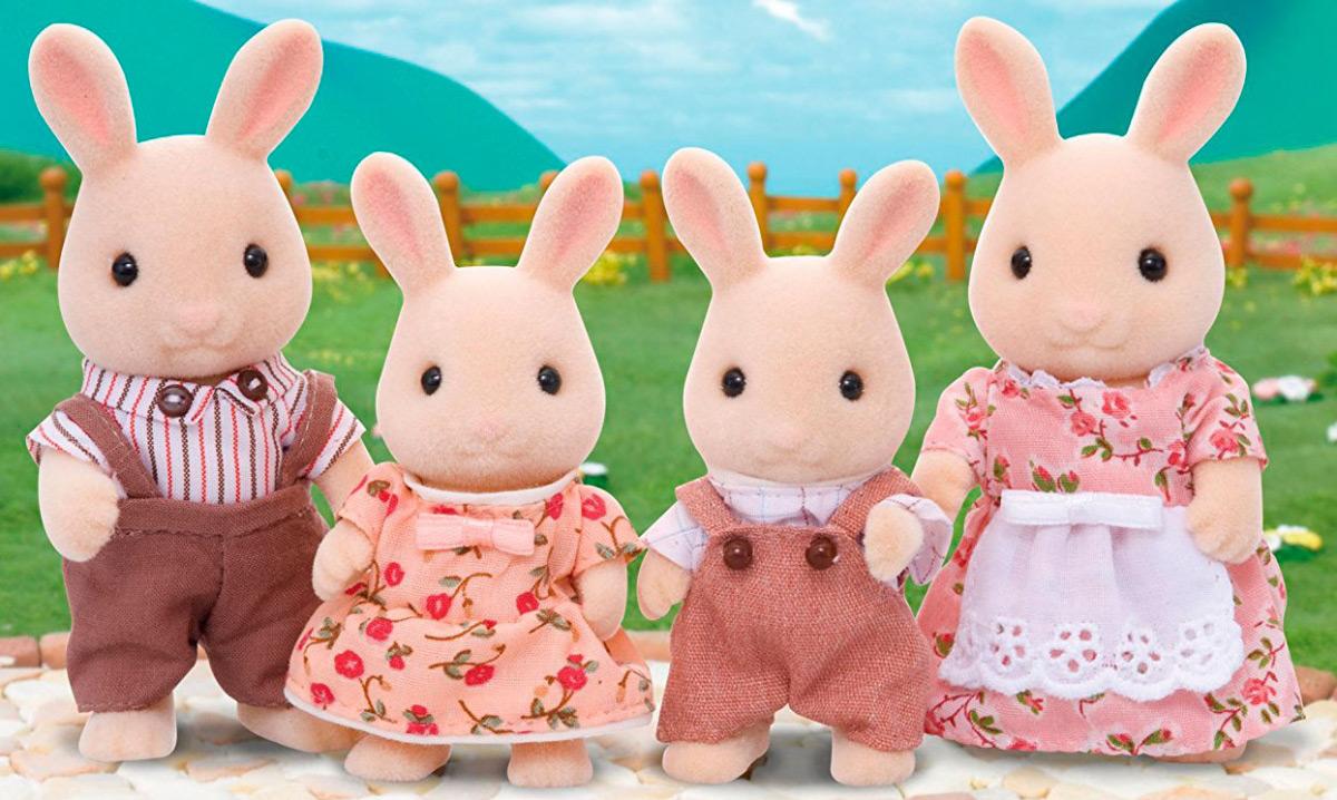 Набор Семья Молочных Кроликов Sylvanian Families 5054131041086