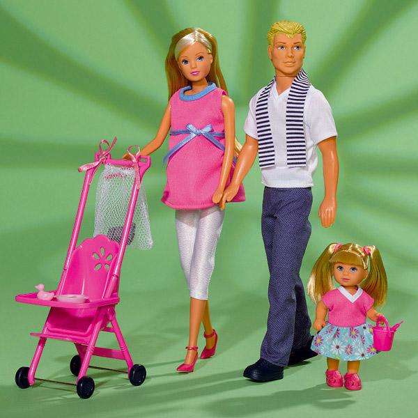 Набор кукол Штеффи с семьей Simba 5733200
