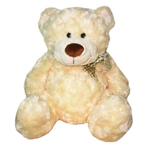 Мягкая игрушка Медведь белый, с бантом, 48 см