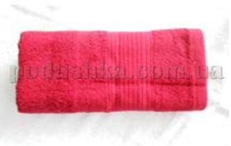 Полотенце махровое Belle-Textile LX316 бордовое