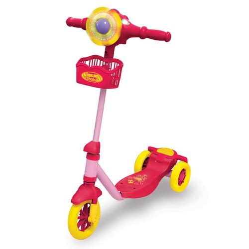 Скутер с подсветкой - Забавные огоньки (для девочек)