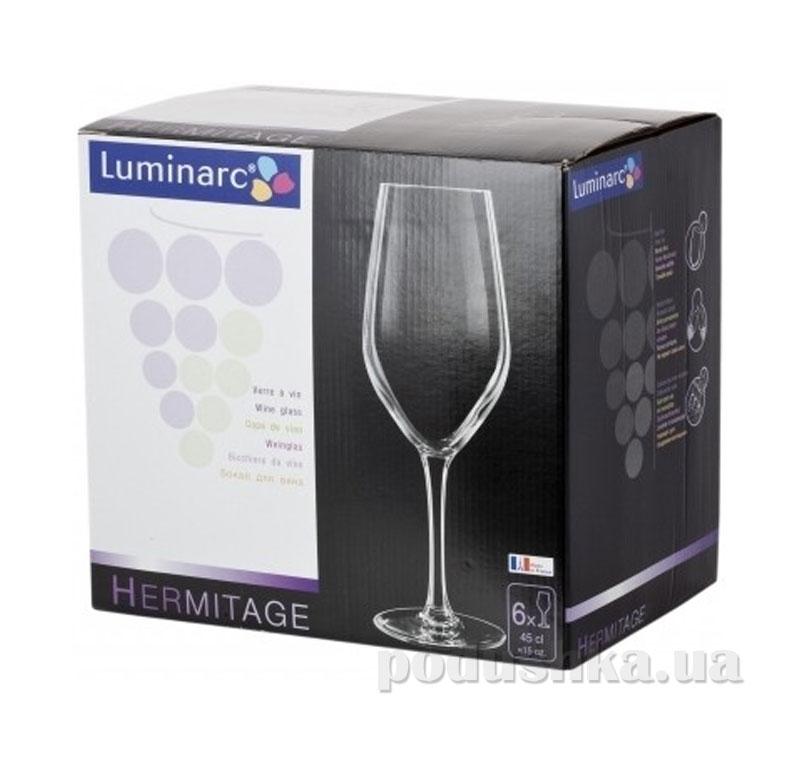 Набор бокалов Luminarc Hermitage 6х270 мл H2601   Luminarc