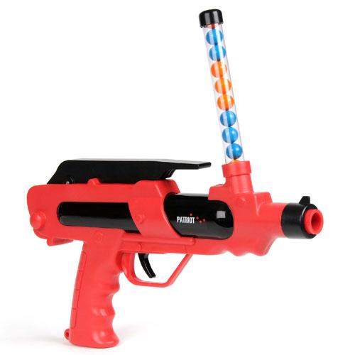 Набор для пейнтбола серии - PATRIOT - PA1000 (пистолет, мишень, очки, пули)