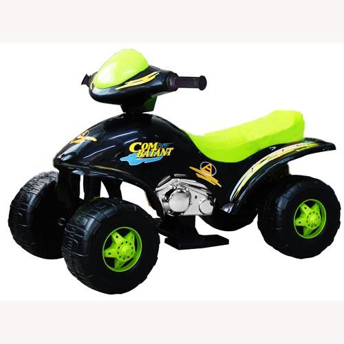 Квадроцикл - HOT SHOT (двигатель 1х6 В, скорость 3 км/ч, грузопод. 30 кг, зеленый)