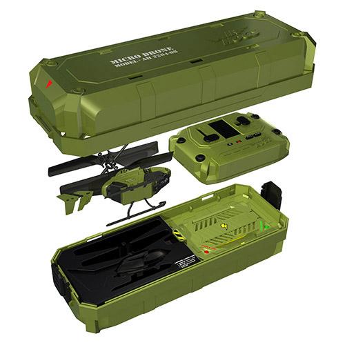 Мини-вертолет на радиоуправлении с кейсом-зарядкой