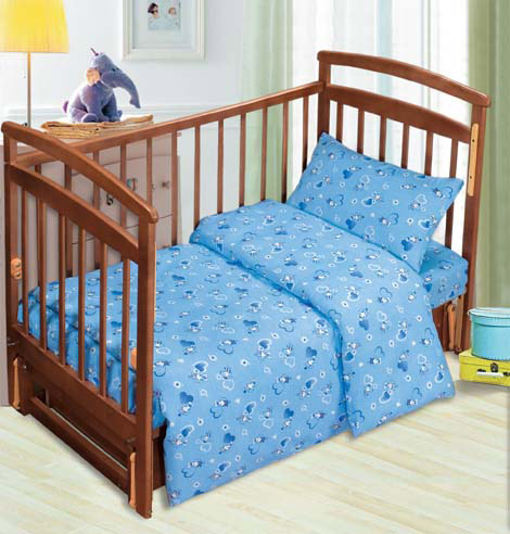 Постельное белье в кроватку Мышата