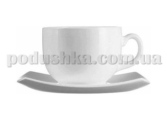 Чайный сервиз Luminarc QUADRATO WHITE 12 предметов