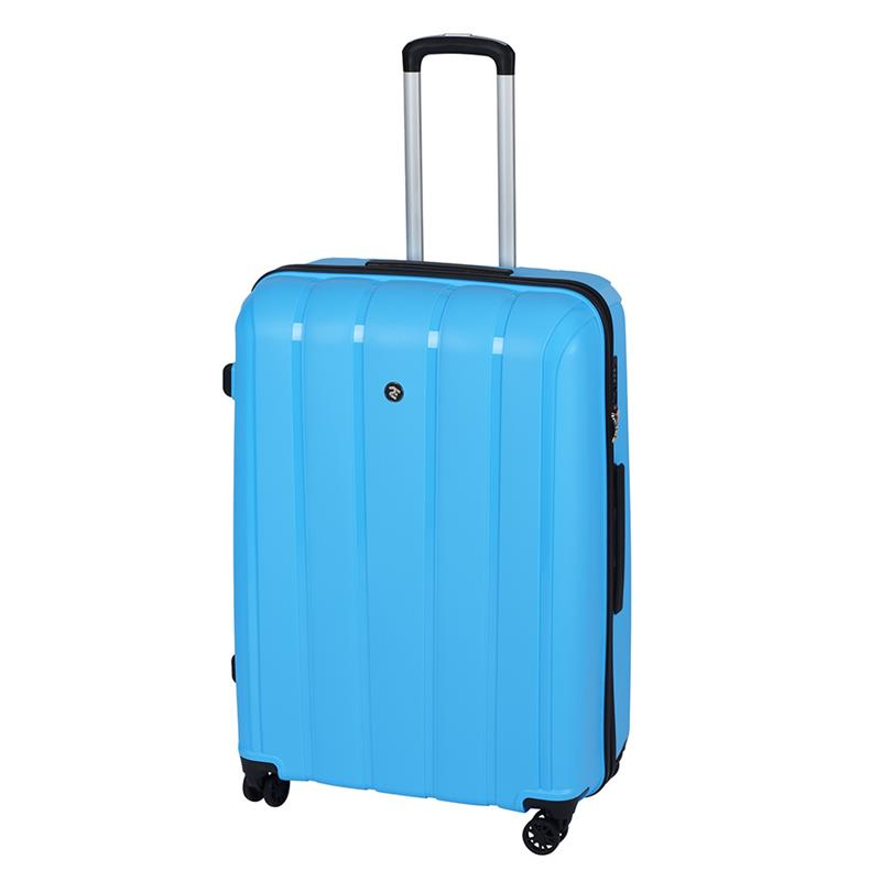 Чемодан пластиковый 2E BagsCases Youngster большой 4 колеса 2E-SPPY-L-LB голубой