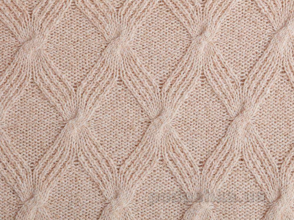 Плед шерстяной Pavia Silky светло-розовый 130х170 см  Pavia