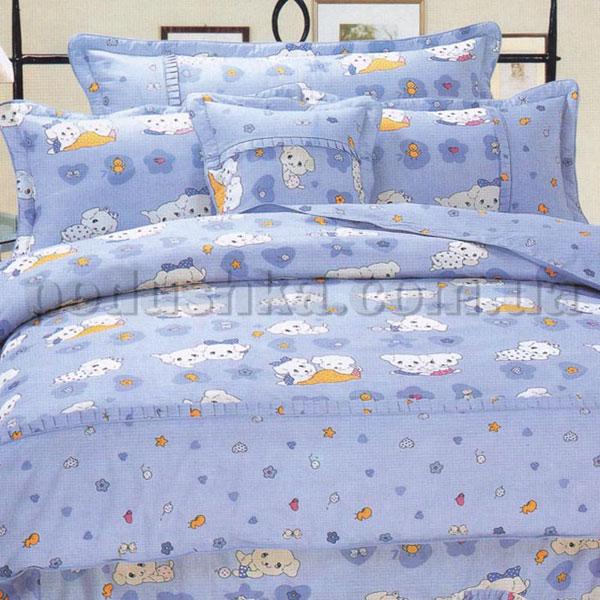 Постельное белье в детскую кроватку Love you CR 101