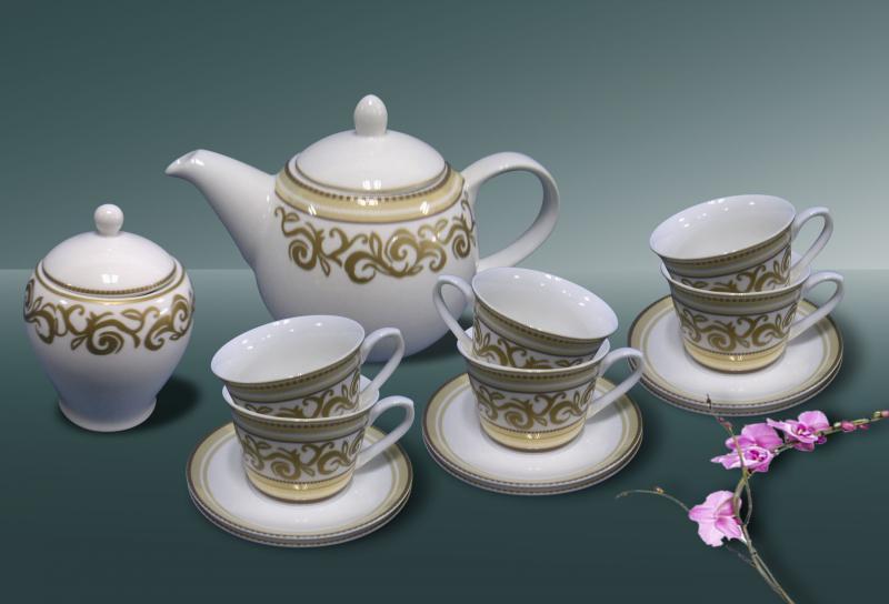Сервиз чайный фарфор 14пр. Marmaris